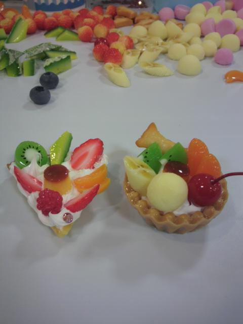 食品サンプル展♪